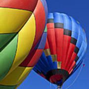 Hot Air Ballons Poster
