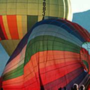 Hot Air Balloons In Albuquerque Poster