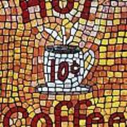 Hot Coffee 10cents Poster