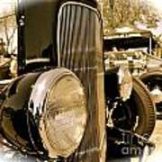 Hot Rod Grille Poster