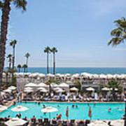 Hotel Del Coronado Pool  Poster