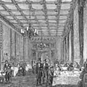 House Of Commons, 1854 Poster