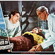 House Of Frankenstein, From Left J Poster