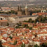 Hradcany In Prague Poster