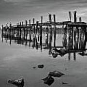 Humboldt Bay Ruins Poster