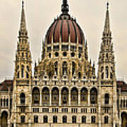 Hungarian Parliment Building Poster