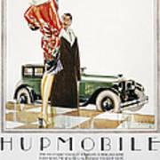Hupmobile Ad, 1926 Poster
