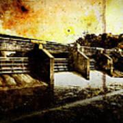 Huron River Dam Poster