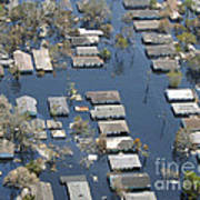 Hurricane Katrina Damage Poster
