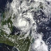 Hurricane Paula Poster