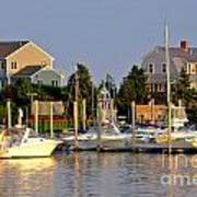Hyannis Harbor At Sunset Poster