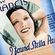 I Found Stella Parish, Kay Francis, 1935 Poster