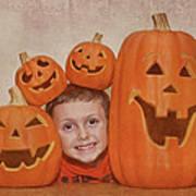 I Love Pumpkins Poster by Pat Abbott