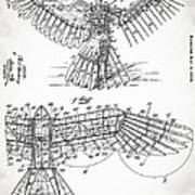 Icarus Patent 1889 Poster