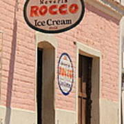 Ice Cream Shop In Todos Santos Poster