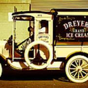 Ice Cream Truck Poster