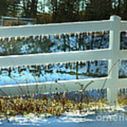 Ice Fence Poster