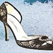 Ice Princess Lace Pumps Poster