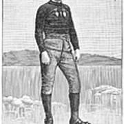 Ice Skater, 1880 Poster