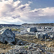 Iceland Barren Landscape - 02 Poster
