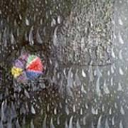 Illusion Of Black Rain Poster