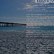Illusions Poem Poster