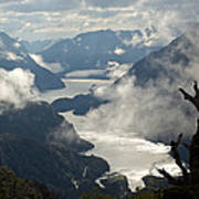 Image Of Doubtful Sound, New Zealand Poster