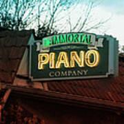 Immortal Piano Co Poster