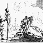 Impalement Of Waldenses Poster