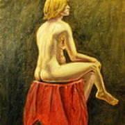 Impressionist Nude Poster