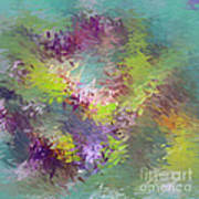 Impressionistic Abstract Poster