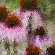 Impressionistic Cones Poster
