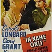 In Name Only, From Left Kay Francis Poster by Everett