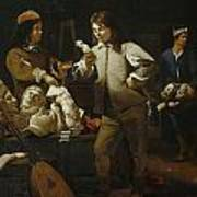 In The Studio Poster by Michael Sweerts