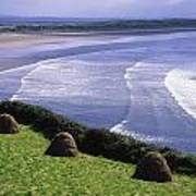 Inch Beach, Co Kerry, Ireland Poster