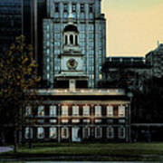 Independence Hall - The Cradle Of Liberty Poster by Bill Cannon