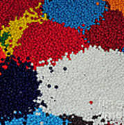 Indian Beads Poster