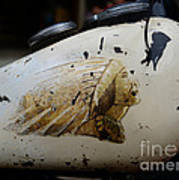 Indian Motocycle Gas Tank Poster