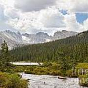 Indian Peaks Summer Day Poster