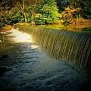 Indiana Waterfall Poster by Joyce Kimble Smith