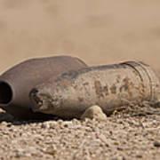 Inert Artillery Rounds Litter Camp Poster