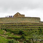 Ingapirca Inca Ruins   Ecuador Poster