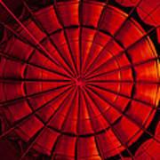 Inside A Hot Air Balloon Poster