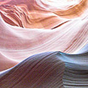 Inside Lower Antelope Canyon Poster