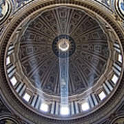 Inside St. Peter's Basicilia Poster