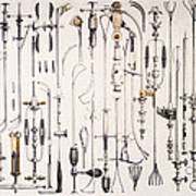 Instruments For Removing Bladder Stones Poster