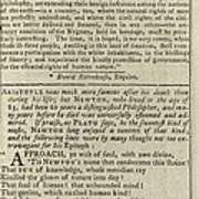 Interior Page, With An Abolitionist Poster by Everett