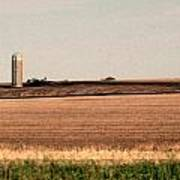 Iowa Landscape V Poster