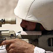Iraqi Army Sergeant Sights Poster