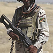Iraqi Army Soldier Poster